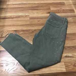 Mossimo olive green jeans